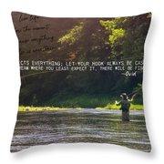Take Me Home Quote Throw Pillow