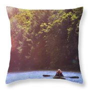 Take Me There Throw Pillow