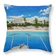 Take Me To La Samanna Throw Pillow