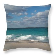 Take Me To The Bahamas Throw Pillow