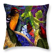 Take My Hand, Please Alice Throw Pillow