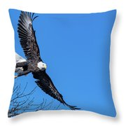 Take Off For Target Throw Pillow