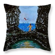 Taken By The Wind Throw Pillow