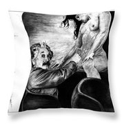 Taking A Day Off Throw Pillow