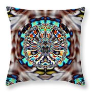 Taking A Spin Throw Pillow