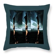 Taking A Walk Throw Pillow