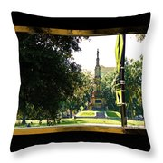 Taking A Walk Through American History Throw Pillow