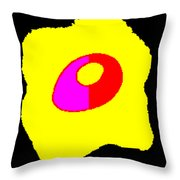 Taking Form Throw Pillow