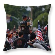 China Chapter Taking It All In Throw Pillow