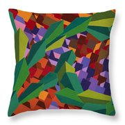 Taking The Long Way Down Throw Pillow