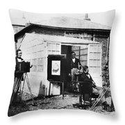Talbotype, 1845 Throw Pillow