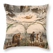 Tale Of The Marche Rich And Basil Homeless 1 Throw Pillow