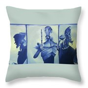 Tale Of The Three Brothers Throw Pillow