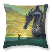 Tales From Earthsea Throw Pillow