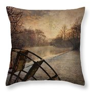 Tales From The Riverbank  II Throw Pillow