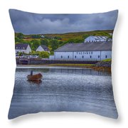 Talisker  Isle Of Skye Throw Pillow