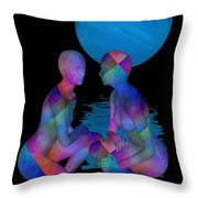 Talk To Me Throw Pillow