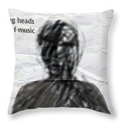 Talking Heads Fear Of Music  Throw Pillow