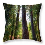 Tall And Mighty Throw Pillow