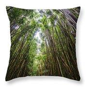Tall Bamboo Throw Pillow