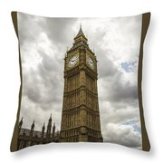 Tall Big Ben Throw Pillow