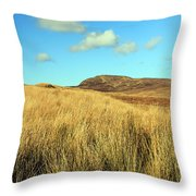 Tall Grass Throw Pillow