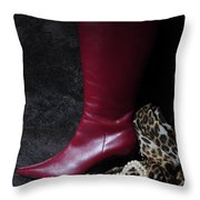 Out To The Jungle  Throw Pillow
