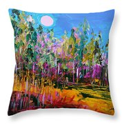 Tall Left And Front Throw Pillow