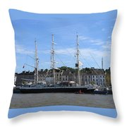 Tall Ship Race Waterford 2011 Throw Pillow