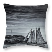 Tall Ships 2009 Throw Pillow