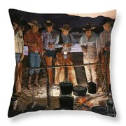 Tall Tales Throw Pillow