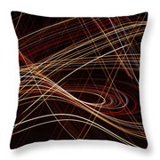 Talladega Highway Throw Pillow