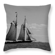 Tallship Throw Pillow
