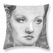 Tallulah Bankhead Throw Pillow