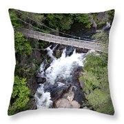 Tallulah Falls Bridge Throw Pillow