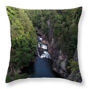 Tallulah Gorge 1 Throw Pillow