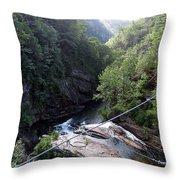 Tallulah Gorge 2 Throw Pillow