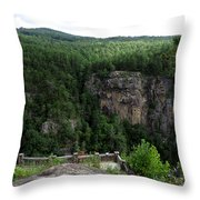 Tallulah Gorge 5 Throw Pillow