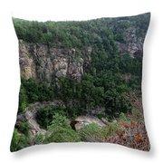 Tallulah Gorge 6 Throw Pillow