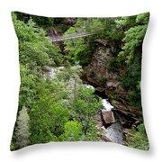Tallulah Gorge 9 Throw Pillow