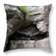 Tallulah Gorge Stone Bench 2 Throw Pillow