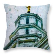 Talo Palvonta Throw Pillow