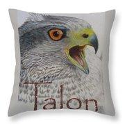 Talon Close Up Throw Pillow