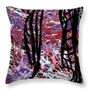 Talons Of Tomorrow Throw Pillow