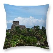 Talum Ruins 2 Throw Pillow