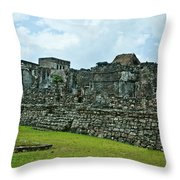 Talum Ruins 3 Throw Pillow