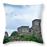 Talum Ruins 5 Throw Pillow