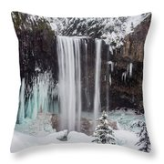 Tamanawas Falls 1 Throw Pillow