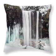 Tamanawas Falls 2 Throw Pillow
