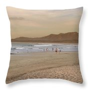 Tamarindo Beach, Costa Rica Throw Pillow